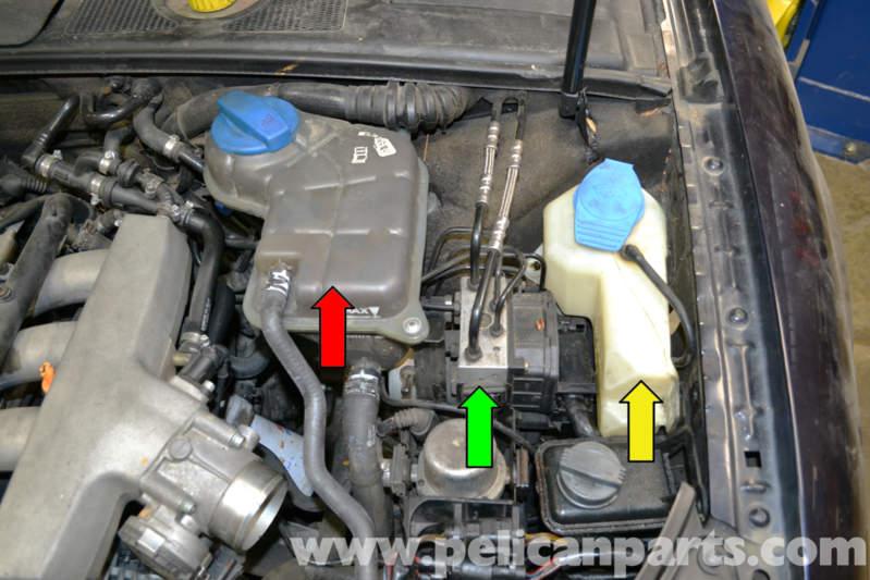 B5 S4 Fuse Diagram Audi A4 B6 Brake Pressure Sensor Replacement 2002 2008