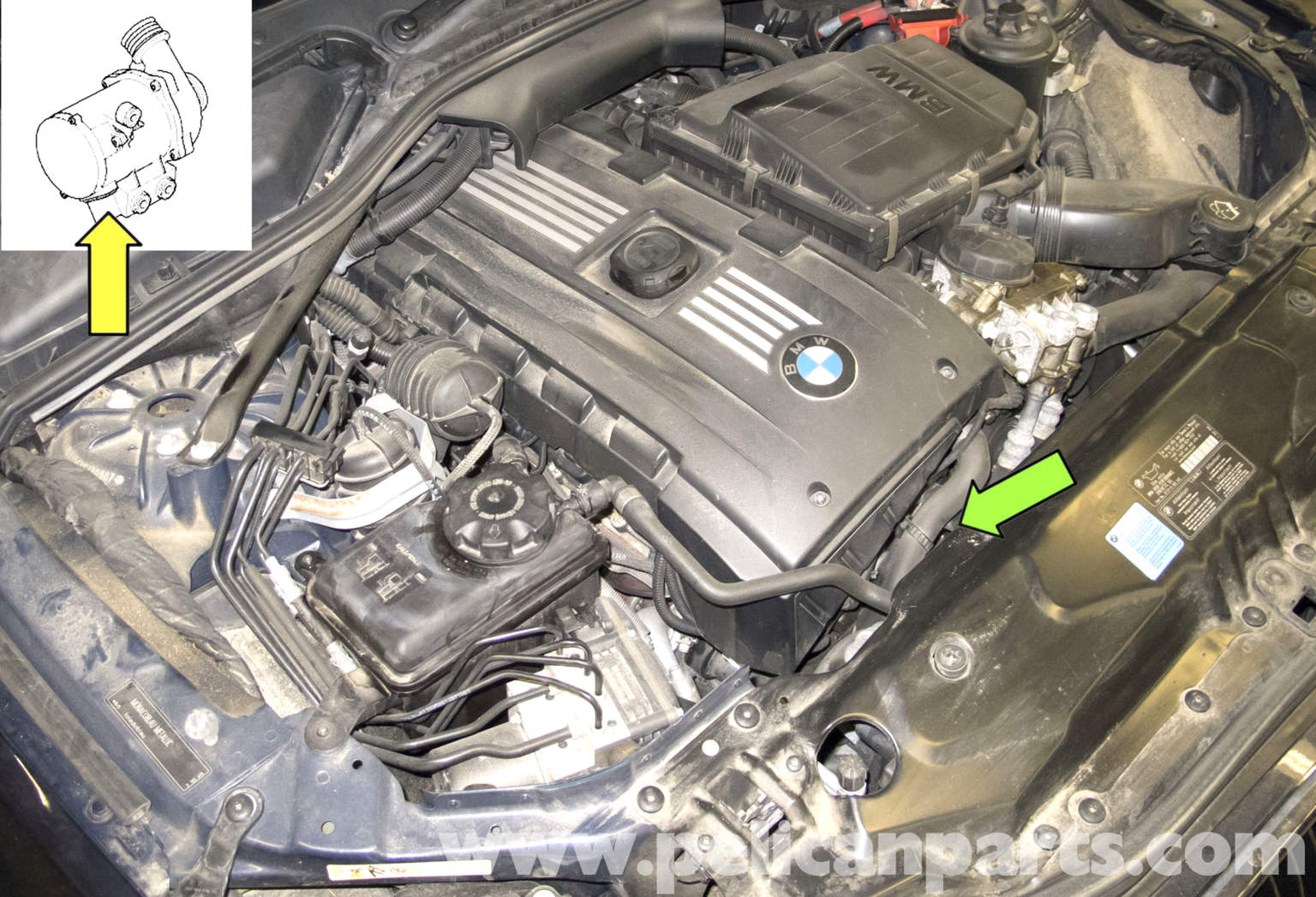 Xi Fuse Box Location Bmw E60 5 Series Water Pump Testing Pelican Parts