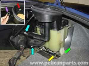 Porsche Boxster Coolant Tank Replacement  986  987 (199708)  Pelican Parts Technical Article