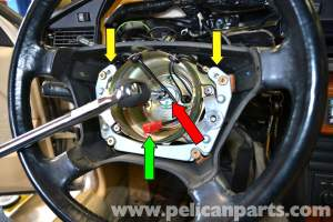 MercedesBenz 190E Steering Wheel Removal and Replacement