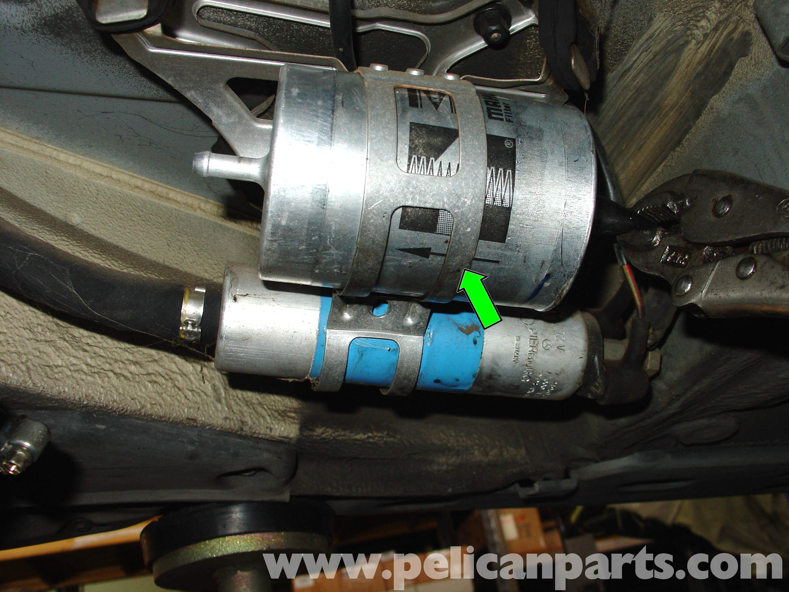 Fuse Box Mercedes Benz W210 Fuel Filter Replacement 1996 03 E320