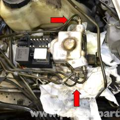 Mercedes W124 Abs Wiring Diagram Ford Fiesta Mk7 Radio Benz Relay And Pump Replacement 1986
