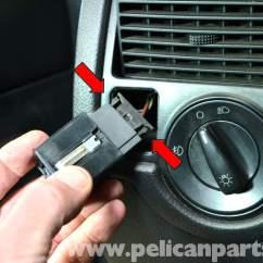 Mk Double Light Switch Wiring Diagram Jensen Interceptor Volkswagen Golf Gti Iv Headlight And Dimmer