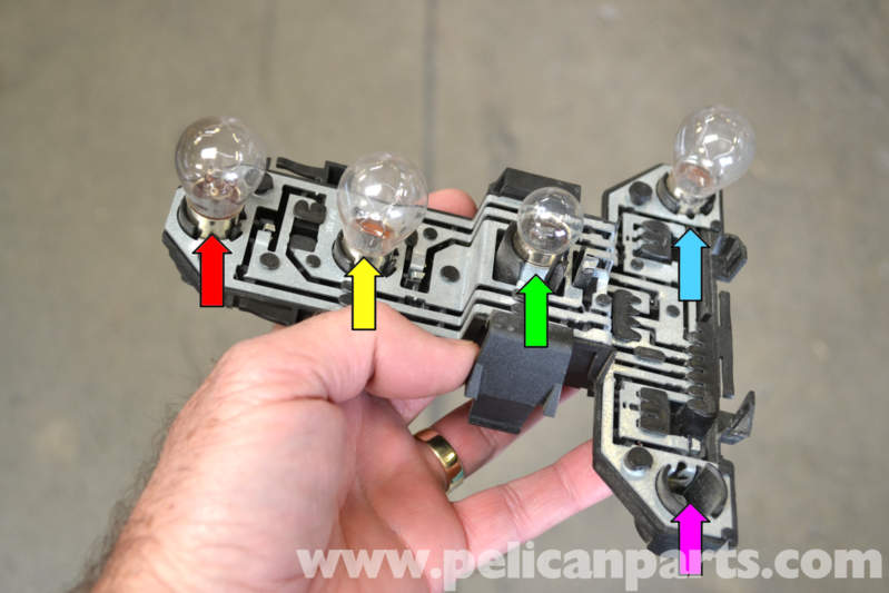 Golf Cart Turn Signal Switch Wiring Diagram Volkswagen Golf Gti Mk Iv Taillight Bulbs And Assembly