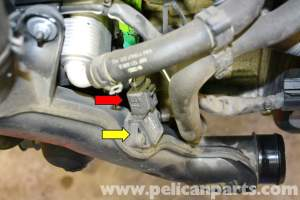 Volkswagen Golf GTI Mk V Boost or Charged Air Sensor
