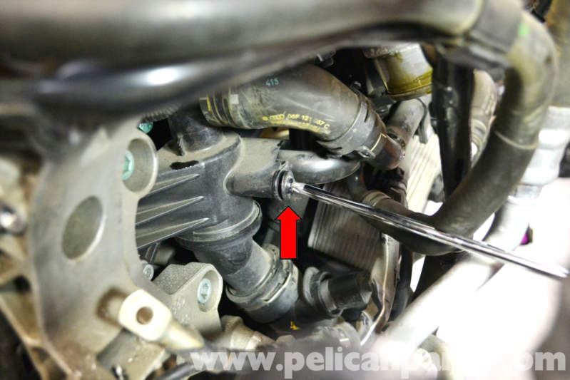 vw golf wiring diagram two lights one switch volkswagen gti mk v thermostat replacement (2006-2009) - pelican parts diy maintenance article