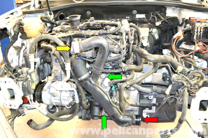 2013 Vw Gli Fuse Diagram On Volkswagen Golf Gti Mk V Oil Cooler Replacement 2006 2009