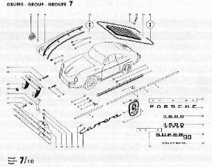 356 Porsche Exploded-View Part Diagrams & Workshop Manuals