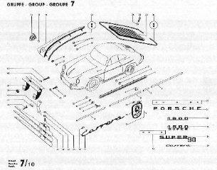 356 Porsche Exploded-View Part Diagrams & Workshop Manuals