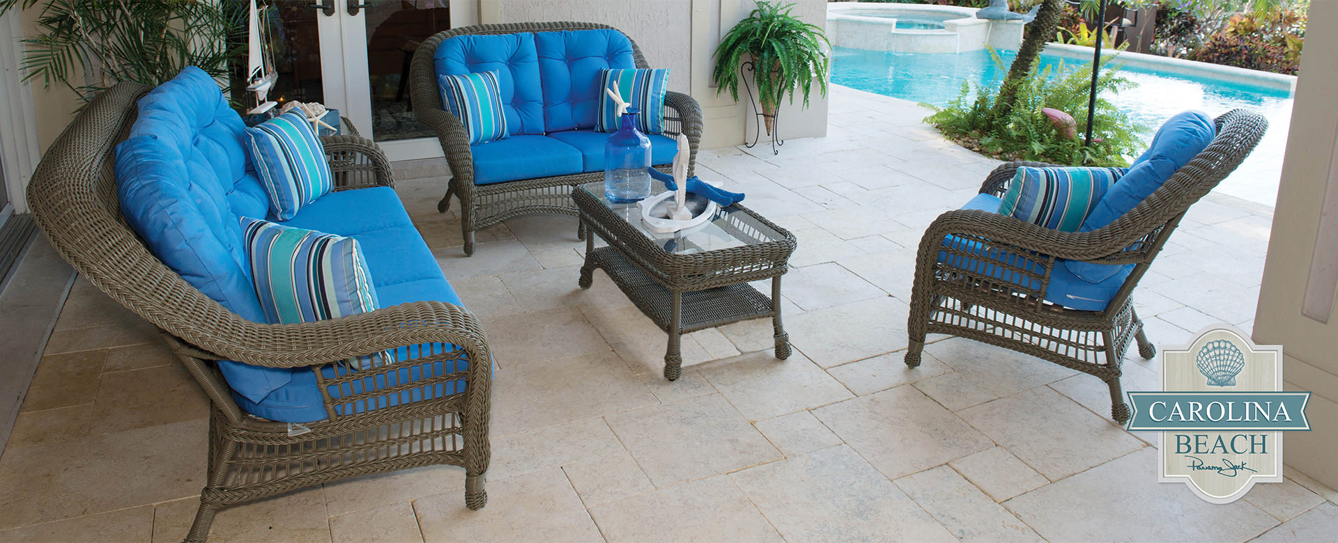 Pelican Reef  Panama Jack Outdoor Sunroom Furniture
