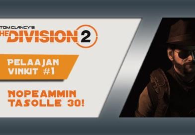 The Division 2: Tasokattoa lähemmäksi