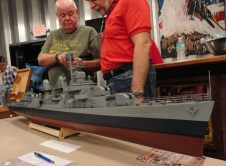 Philanthropist George Hecht offers up his latest project to help the youth of China - a 1:72 U.S. Navy Fletcher class destroyer from Hobbico - no screws needed!.