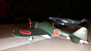 Hobby Boss 1:72 A6M5a Zero by FFL Karl Pople