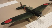 This is by Tom Milne - Hasegawa 1:48 kit and build of a Aichi D3A-1 Val.