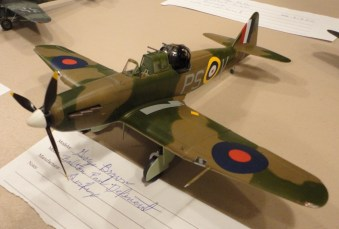 Big George Brown does up a new Airfix 1:48 Boulton Paul Defiant.