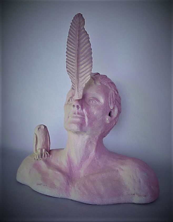 Susan Pelish - Self Portrait Sculpture