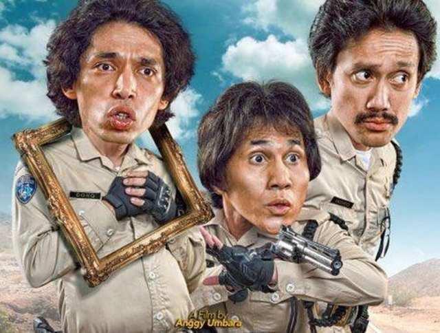 Film 'Warkop DKI Reborn' Dibajak, Falcon Pictures Lapor ke Polda Metro Jaya