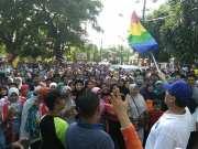 Masyarakat Pandeglang Antusias Sambut Wahidin Halim Berolahraga