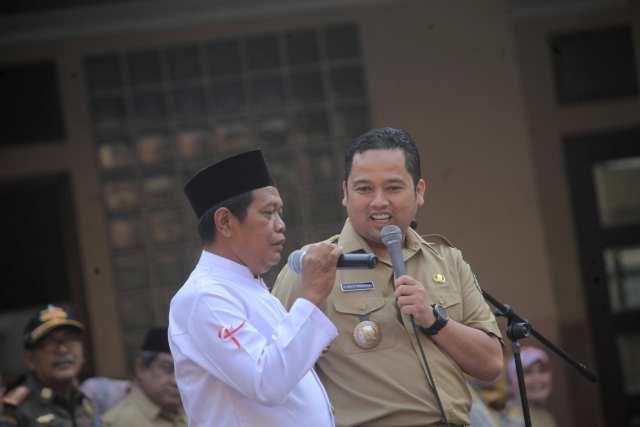 Tumbuhkan Rasa Nasionalisme, Arief R Wismansyah Apresiasi Pelaksana Upacara Unik di Tangerang