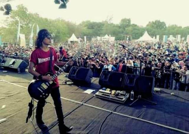 Roompoet Hijau, Band Reggae Asal Menes Meriahkan Panggung Festival Pesona Tanjung Lesung