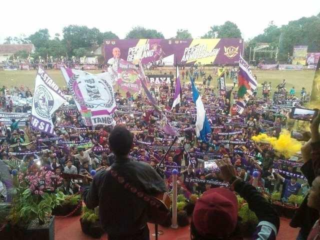 Persita Rayakan Ulang Tahun ke-64 di Stadion Mini Cisauk