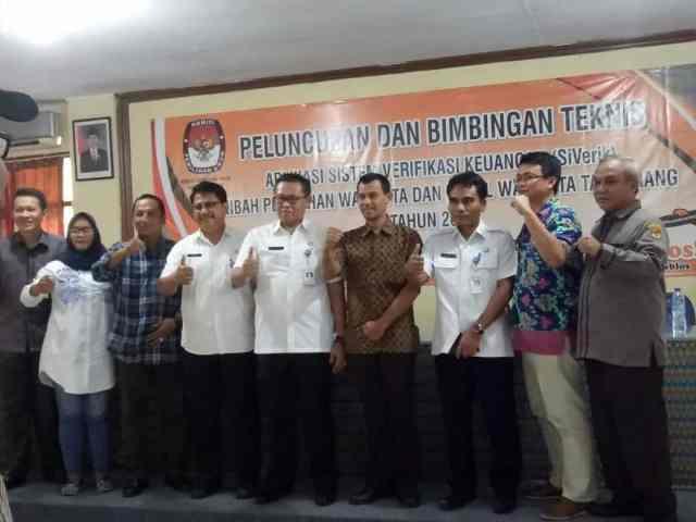KPU Kota Tangerang Luncurkan Aplikasi Pelaporan Keuangan Siverik