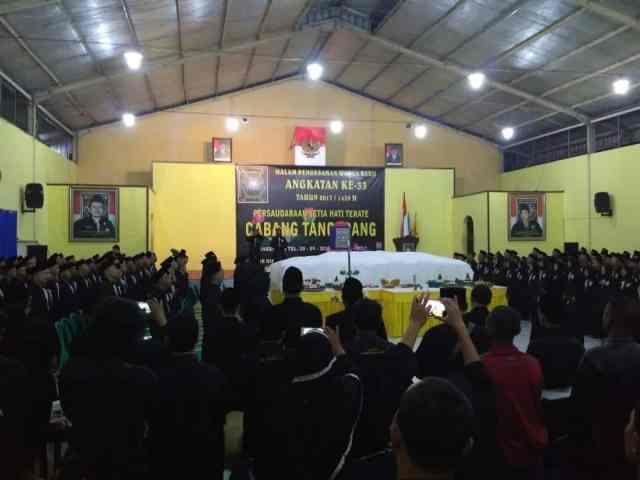 PSHT Cabang Tangerang Gelar Pengesahan Warga Baru Angkatan ke-33 Tahun 2017