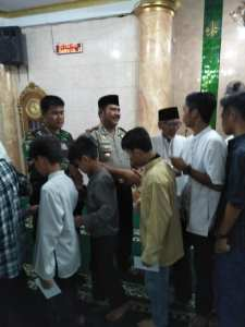 Kapolsek Karawaci Temui Ketua MUI Kota Tangerang Kapolsek Karawaci Temui Ketua MUI Kota Tangerang