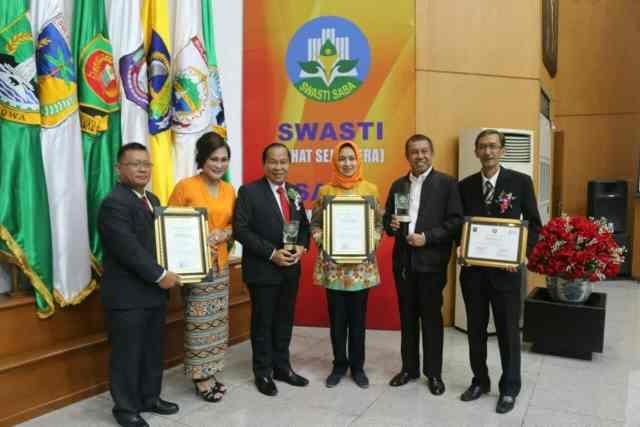Tangerang Selatan Raih Swasti Saba Wiwerda Tingkat Nasional Tahun 2017