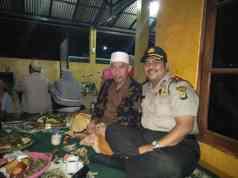 Arahan Kapolres Metro Tangerang Kota, Kapolsek Karawaci Datangi Rumah KH Sihabudin