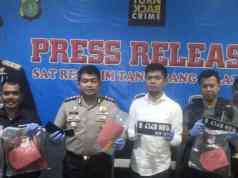 Satreskrim Polres Tangerang Selatan Tangkap Dua Pelaku Pembunuhan Sadis Siti Nurhayati