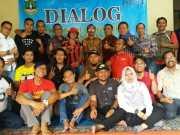 Kominfo Banten Adakan Dialog Dengan Pokja Tangerang