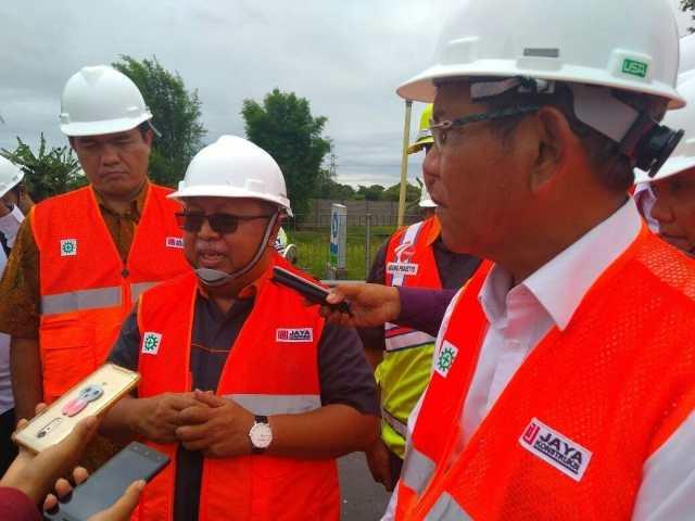Jasa Marga Lakukan Penggunaan Aspal Plastik di Tol Tangerang-Merak