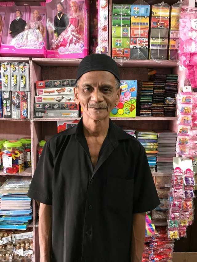 Kios Pedagang Petasan di Kota Tangerang Disita Petugas