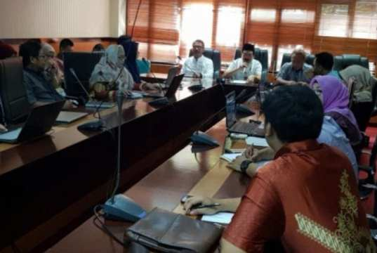 Disnakertrans Provinsi Banten Sosialisasikan Wajib Lapor Ketenagakerjaan Secara Online