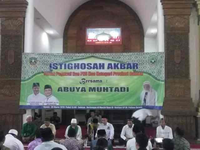 Gaji Dinaikan Gubernur WH, Forum Honorer Pemprov Banten Gelar Istigosah