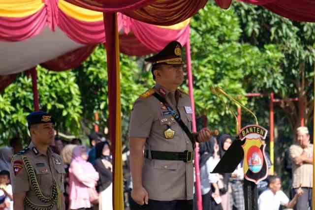 Polda Banten, Buka Pendidikan Pembentukan Bintara Polri TA 2019