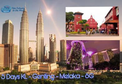 5 Hari Malaysia – Genting – Melaka – Singapore