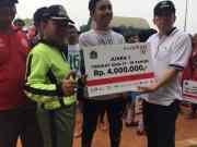 Kelurahan Cengkareng Timur Raih Juara 1 Lomba Futsal Tingkat SMA Mewakili Jakarta Barat ke Tingkat Provinsi