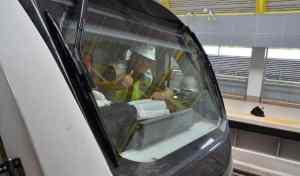 Rombongan Menteri Melihat Langsung Pengerjaan Kereta LRT Untuk Asian Games