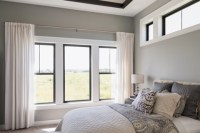Windows With Black Trim