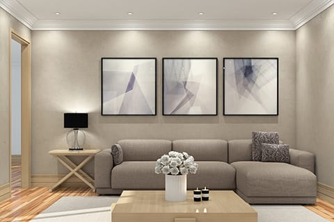Defining the focal point of a room