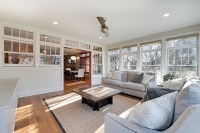 Transom Windows - Covered Entryway Entry Traditional With ...