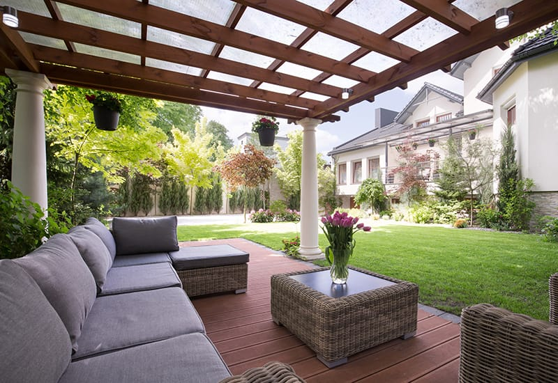 design ideas for outdoor living spaces
