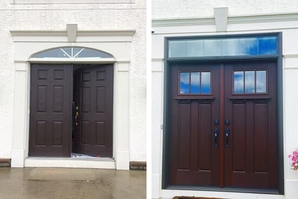 5 Beautiful Craftsman Style Front Doors