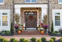 Beautiful Fall Front Door Decor | PRS Blog