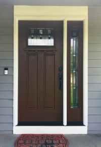 Beautiful Fiberglass Entry Door Enhances Curb Appeal ...