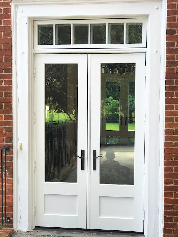 architect series reserve french doors