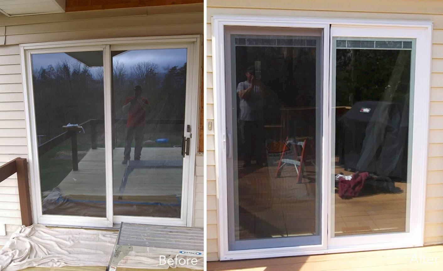 sliding glass door projects pella