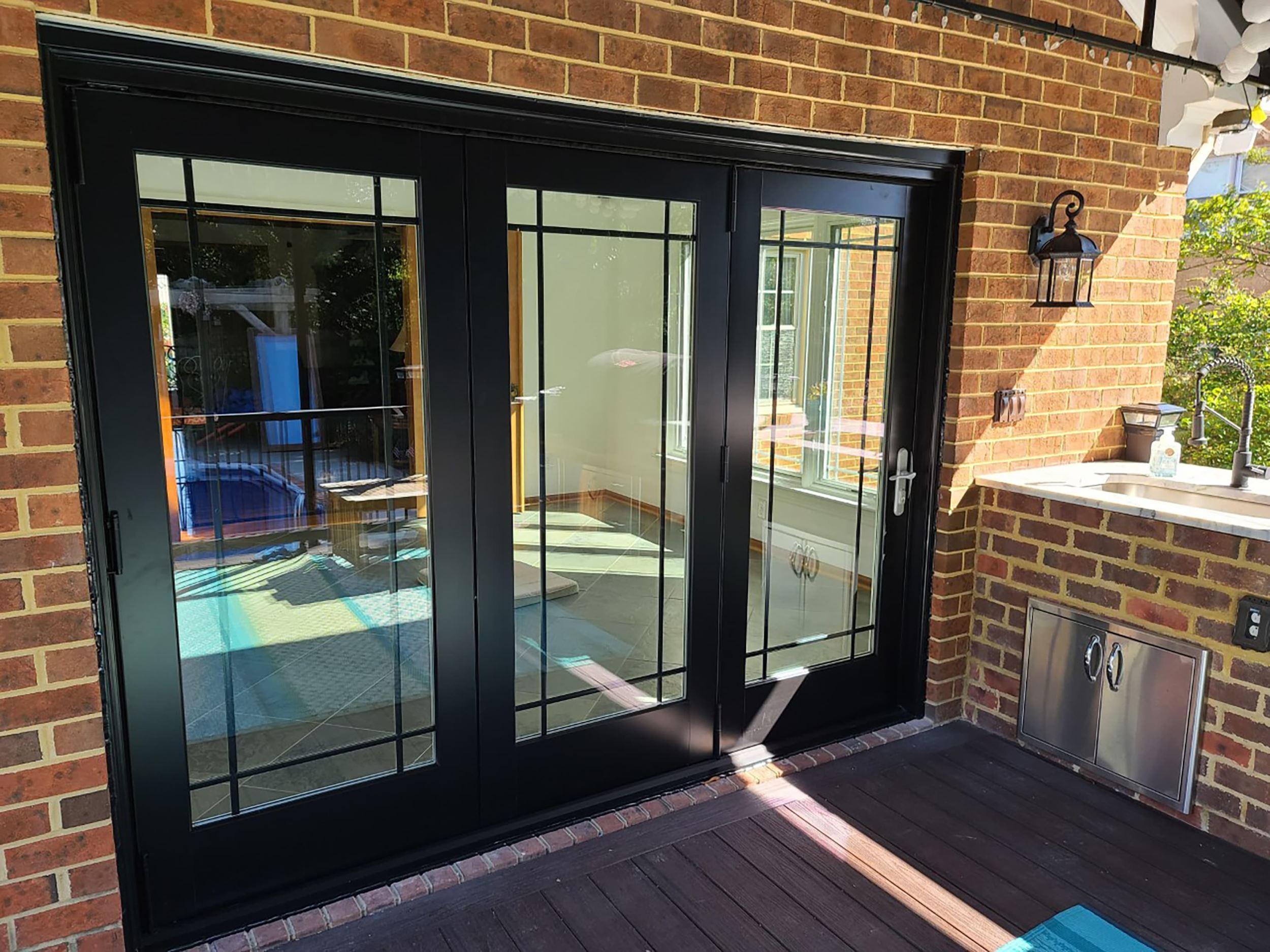 bifold patio doors define modern style